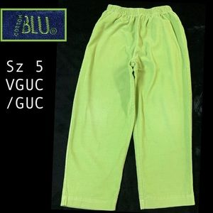 Other - Micro-Wale Bright Green Cords! By Blu!